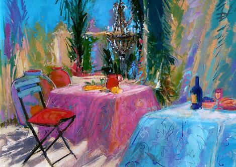 Blue Pink - Signed Giclée Print