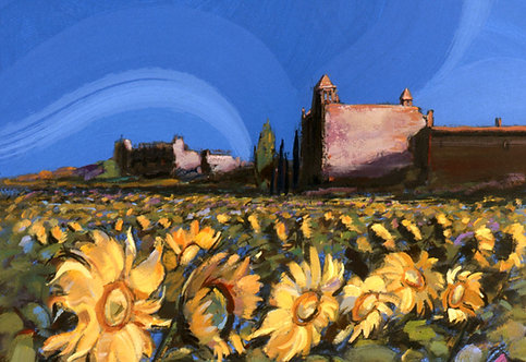Sunflowers III - Signed Giclée Print