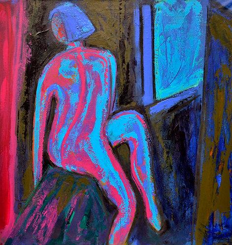 Pink Nude - Signed Giclée Print