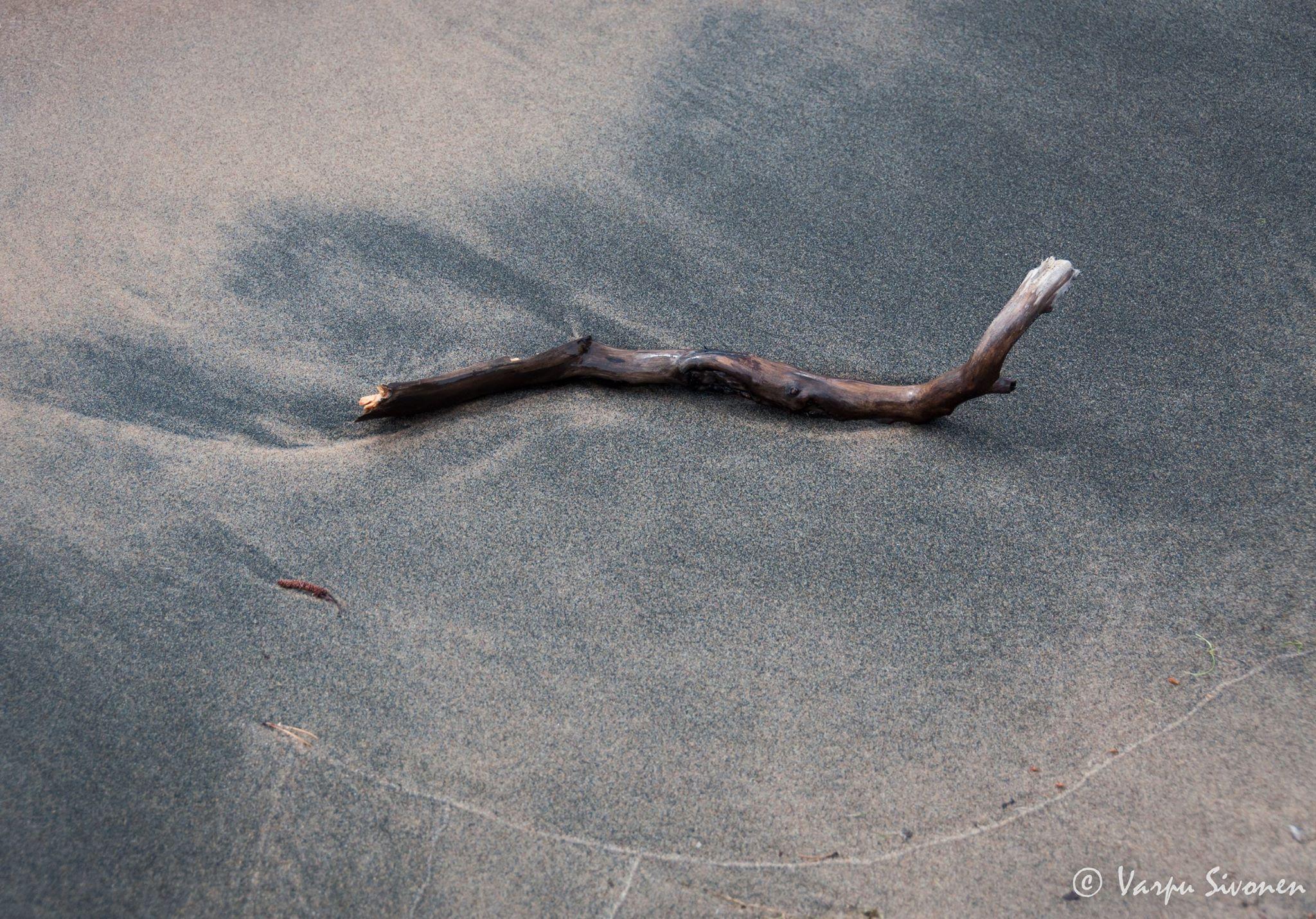 """""""Rajaaminen"""", kuva a, Varpu Sivonen"""