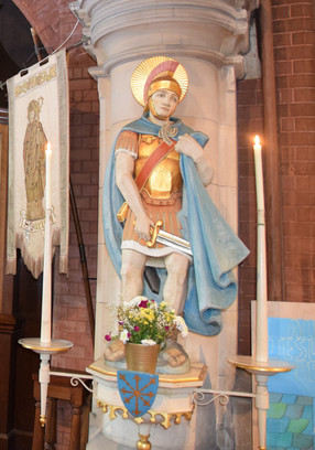 Statue Of Saint Martin
