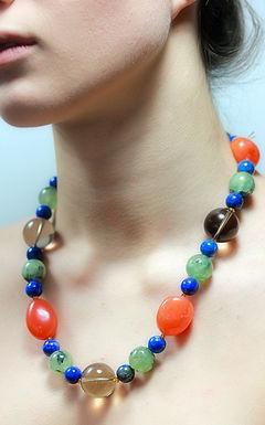 Semi Precious bead Necklaces