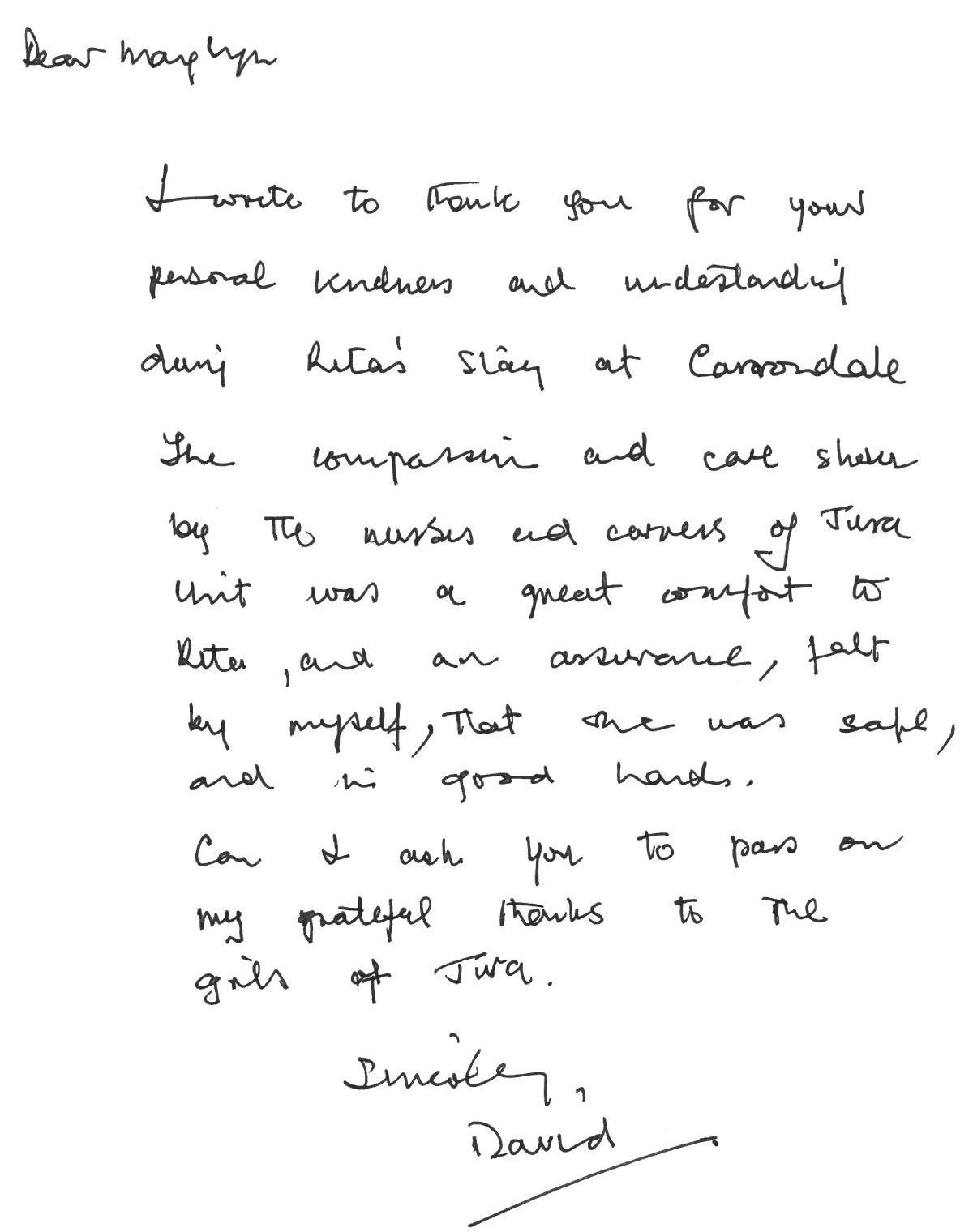 Thankyou Letter (Dec 19 2)