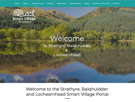 Welcome to the new Strathyre Smart Village Portal