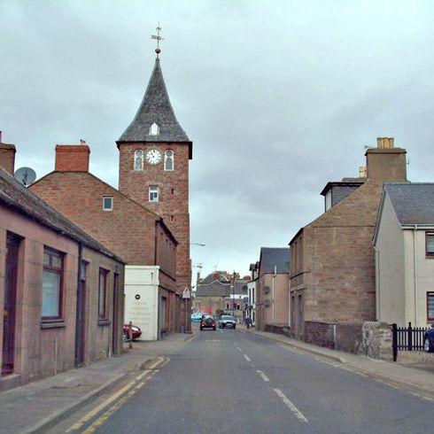 Coupar Angus village scene