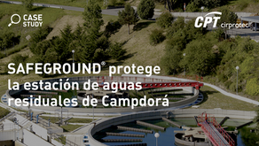SAFEGROUND® protege la estación de aguas residuales de Campdorá