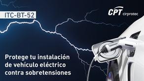 Protege tu instalación de recarga de vehículo eléctrico contra sobretensiones
