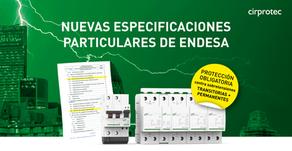 Nuevas especificaciones particulares de Endesa (NRZ103)