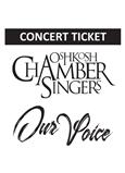 Oshkosh Chamber Singers concert ticket