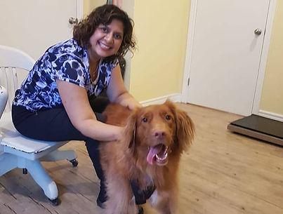 Dr. Maya and Dog