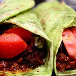 🔽Quick & Easy🔽_Tortilla wrap, soy chor