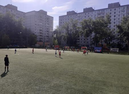 """12.09 на ССК """"Виктория-2"""" стартовал турнир по футболу, посвященный Дню города среди мальчиков 2009г."""