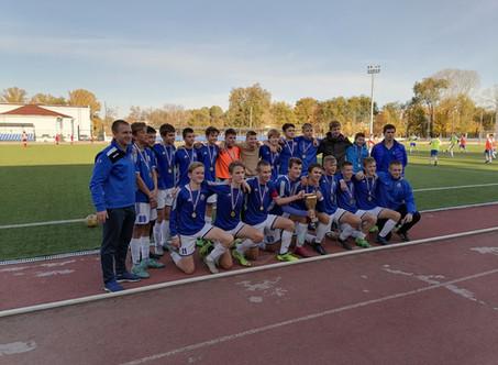 10 октября состоялась финальная игра турнира по футболу Ювентус cup среди юношей 2005 г.р.