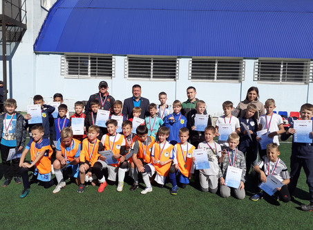 """7-15 сентября на ССК """"Виктория-2"""" прошли соревнования по футболу среди мальчиков 2010 г.р."""