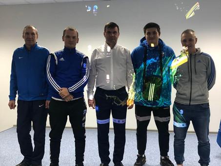 """Поздравляем тренеров ДФЦ """"Виктория"""" получивших лицензии!"""