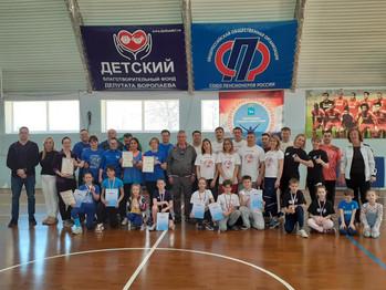 """17 апреля на базе ССК """"Виктория-2"""" состоялся финал соревнований  """"Папа, мама, я - спортивная семья"""""""