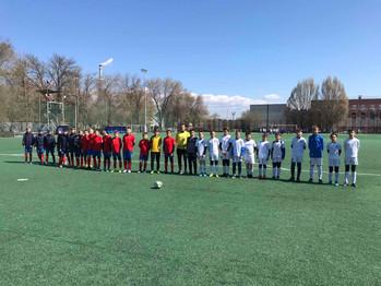 С 27 по 30 апреля прошел турнир по футболу среди мальчиков 2009 г.р.