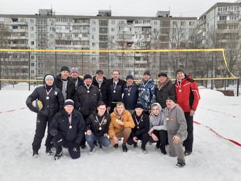 27 февраля состоялся Зимний турнир по волейболу на снегу, посвященный Дню защитника Отечества