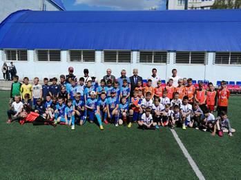 """7-8 мая на базе ССК """"Виктория-2"""" прошёл турнир по футболу ⚽️ среди мальчиков 2011 г.р.,"""