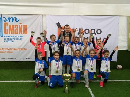 14 марта  2020 года завершился полугодовой Детский футбольный фестиваль г. о. Самара  Додо Пицца Дет
