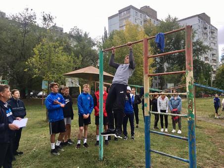"""16 сентября на ССК """"Виктория-2"""" прошли соревнования по легкоатлетическому многоборью"""