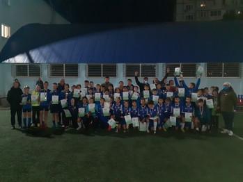 10 октября 2020 года завершился фестиваль футбола среди мальчиков 2008 г.р.