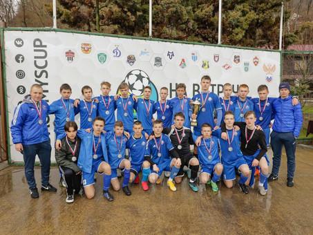 """Команда """"Виктория 2005 г.р."""" стала серебряным призёром на турнире Dagomys cup."""