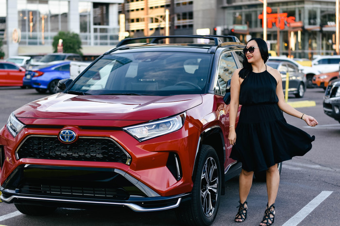 A Girl's Day in Phoenix with the 2021 Toyota RAV4 Prime