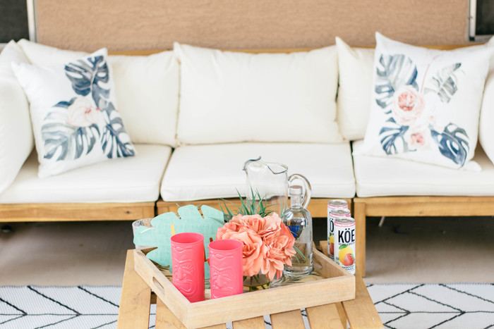 Summer Patio Styling with Uniik Pillows