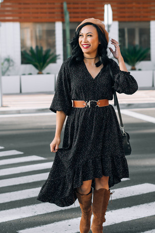 How to Style a Hi-Lo Dress