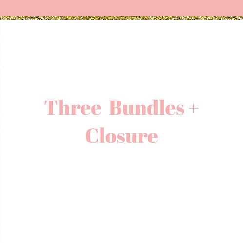 Three Bundles + Closure