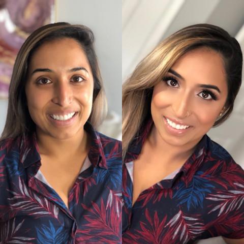 indian makeup artist nj