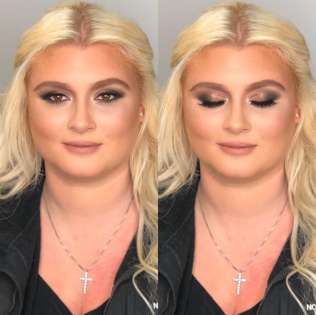 glamorous makeup