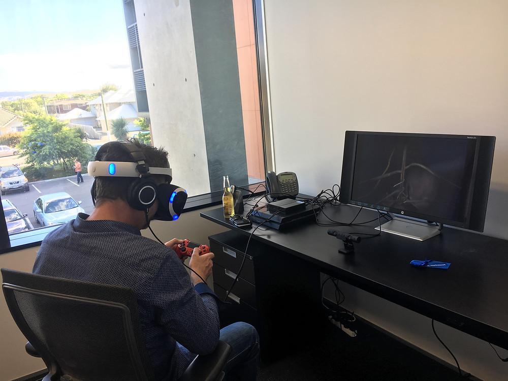 Jason Wills - Futurist Speaker - Shark Dive