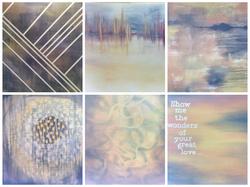 Set of 6 Paintings