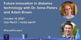 Future innovation in diabetes technology with Dr. Anne Peters and Adam Brown