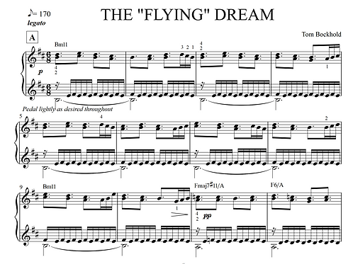 "THE ""FLYING"" DREAM"