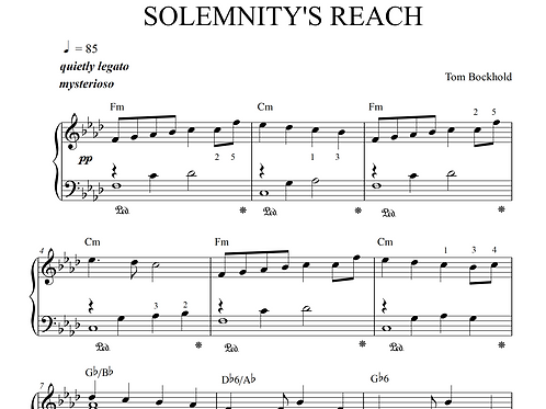 SOLEMNITY'S REACH