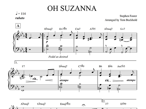 OH SUZANNA