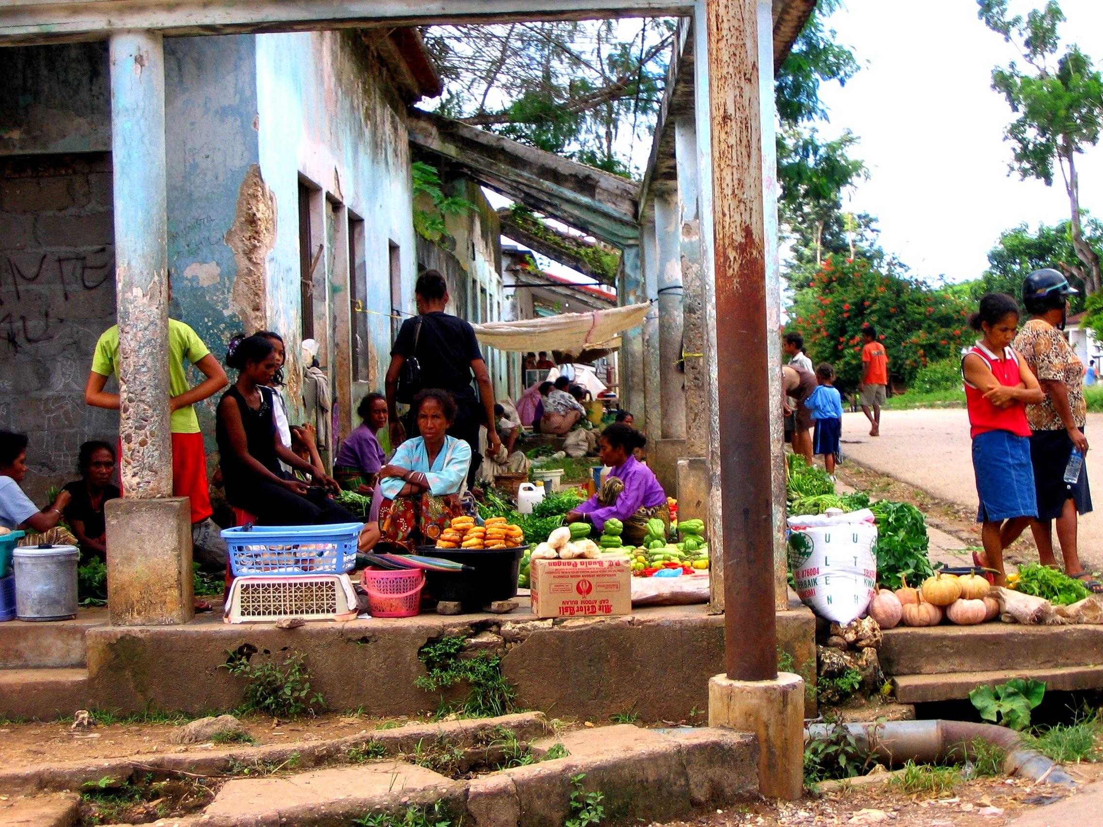 Local Market at Baucau