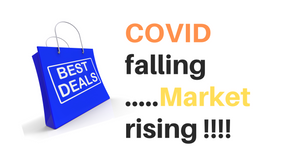 The week ended with downfall in COVID Cases and Upside in Equity Market
