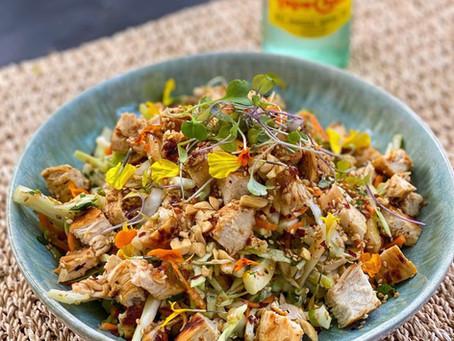Asian slaw-salad