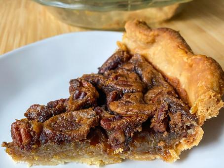 Brown butter-maple pecan pie