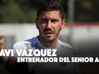 """Vázquez: """"Vamos a luchar con la ilusión y la ambición de Adarve para recuperar la categoría&quo"""