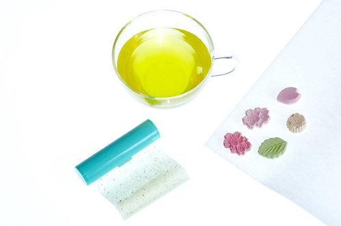 緑茶のあぶらとり紙