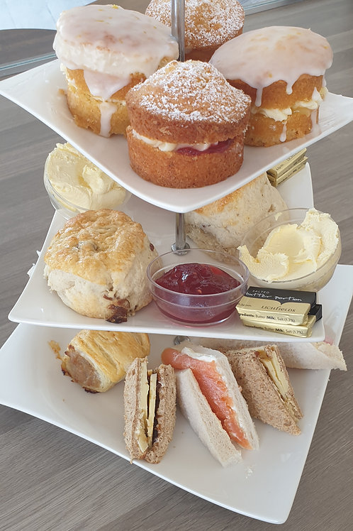 Afternoon tea, delivered