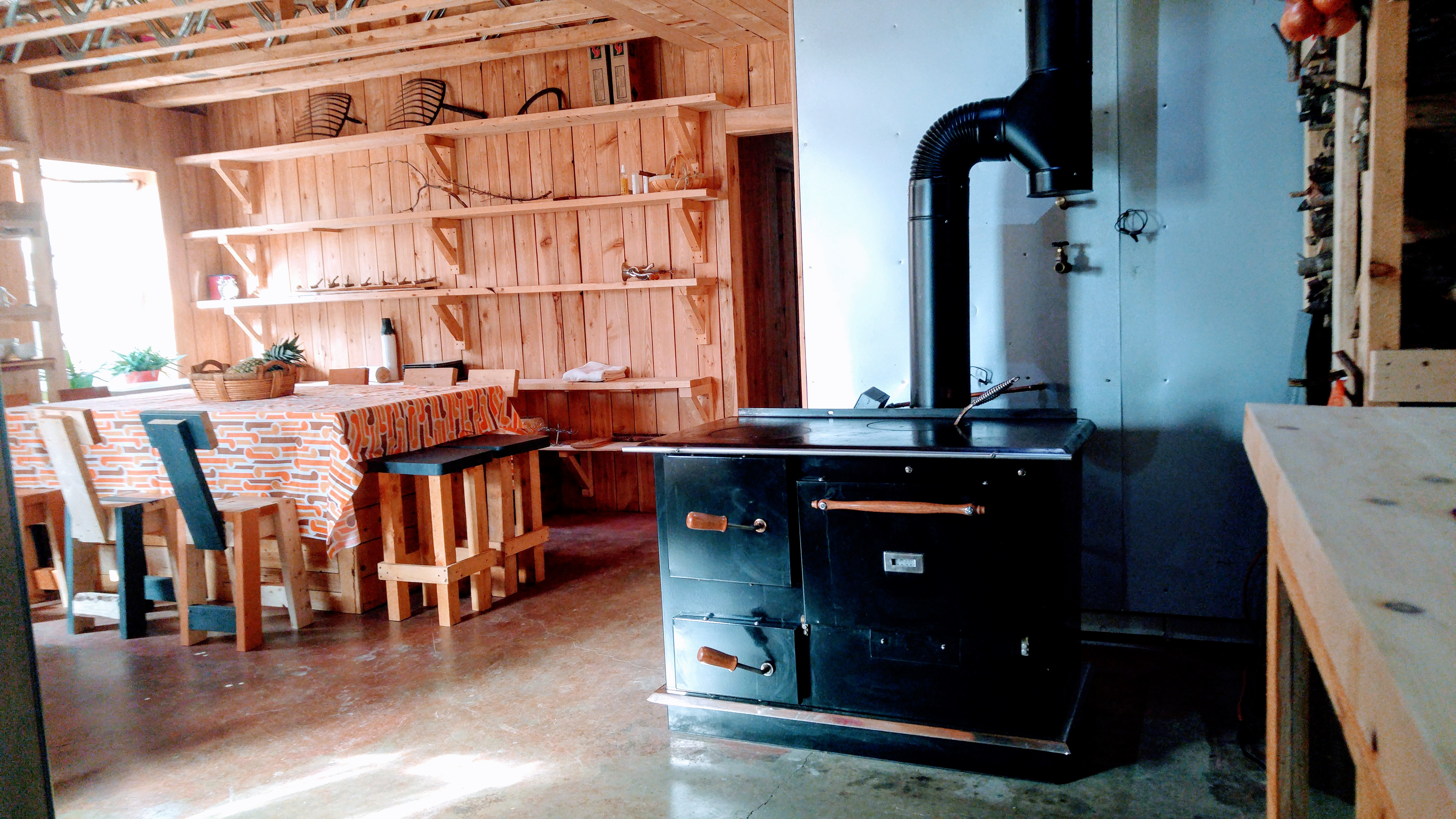 Amish Wood-fired stove