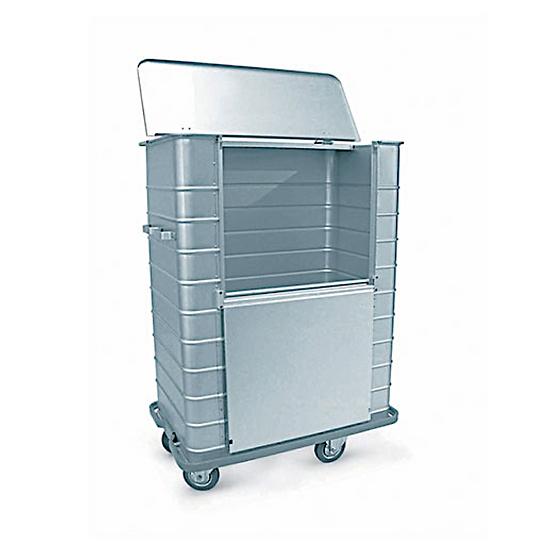 Afval transportwagen