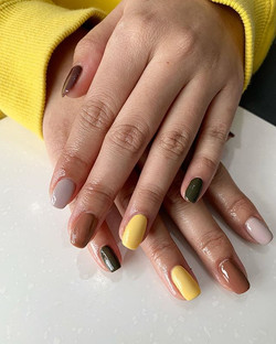 Who said you can't do five colours_ Nail