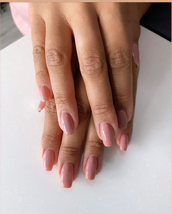 All her's Gel overlay using _opi #somewh